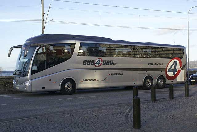 Bus4you coach in Sweden