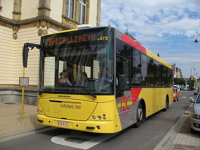 TEC bus in Arlon